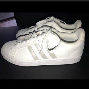 Like new adidas iridescent superstars